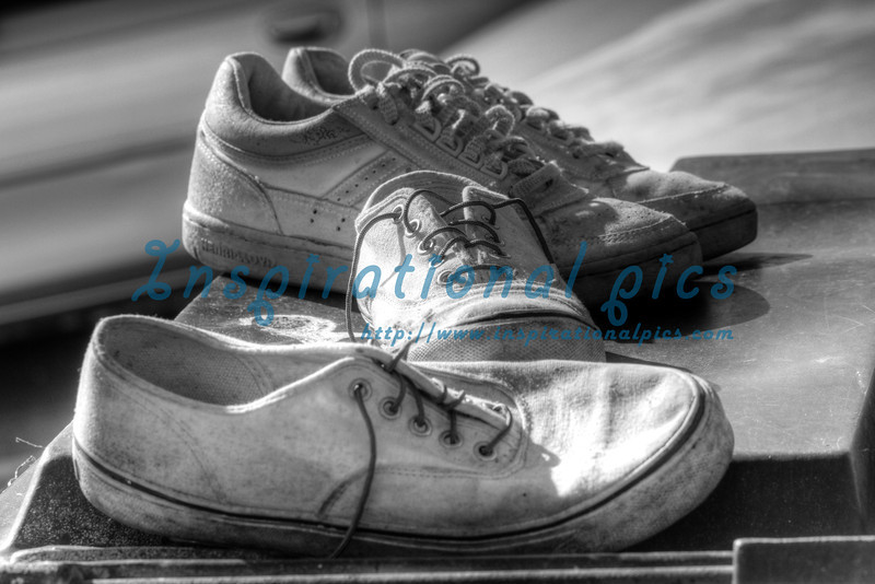 Tennis Shoes HDR
