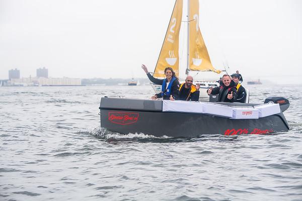 28/08/19 - New York (USA) - Team Malizia and Greta Thunberg arrival - Atlantic crossing