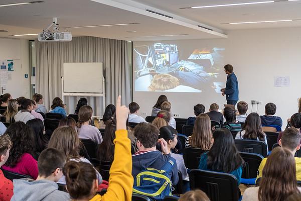 14 Feb 2020, Boris at Hamburg International School