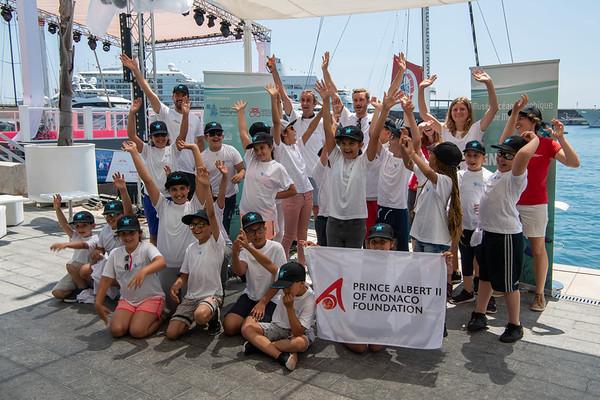 17 06 2019 KIds sailing Monaco