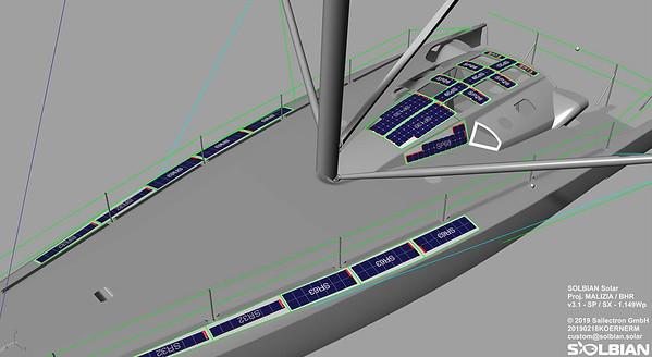 27 08 2019 Solar panels onboard