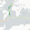 Ocean Salinity full earth lap - Vendée Globe 2020/21 data