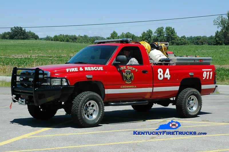 <center> Cromwell  Brush84 <br> 2001 Dodge Ram 4x4/CFD 250/250 <br> Greg Stapleton photo </center>