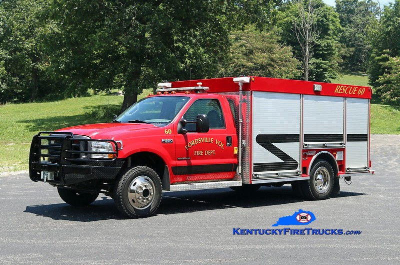 Fordsville  Rescue 60<br /> 2002 Ford F-550 4x4/Summit<br /> Kent Parrish photo