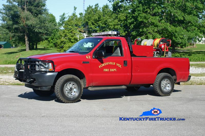 <center> Fordsville  Brush 63 <br> 2002 Ford F-250 4x4 250/250 <br> Kent Parrish photo </center>