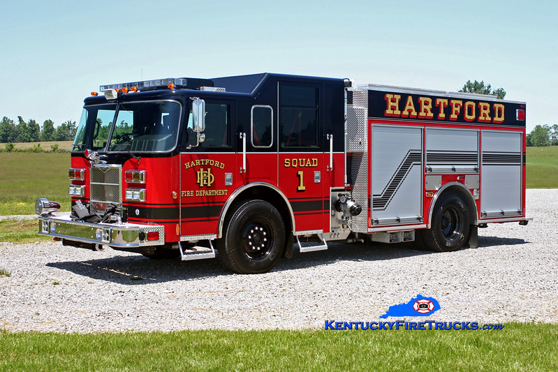 <center> Hartford  Squad 1 <br> 2009 Pierce Contender PUC 1500/1000/20 <br> Kent Parrish photo </center>