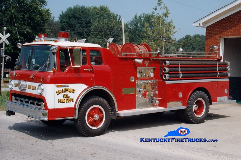 <center> RETIRED <br> McHenry  Engine 29 <br> 1974 Ford C/Allegheny 750/500 <br> Greg Stapleton photo </center>