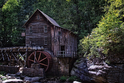 Glade Creek Mill, West Virginia
