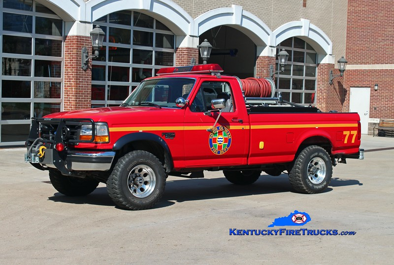 North Oldham  Brush 1477<br /> 1996 Ford F-250 4x4/FD 250/200<br /> Kent Parrish photo