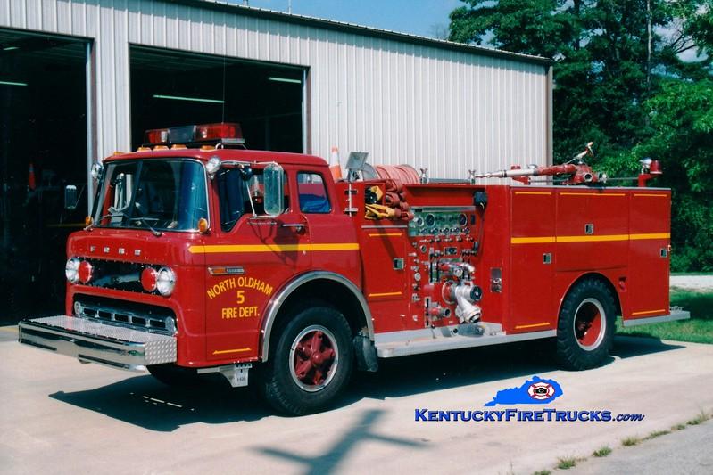 <center> RETIRED <BR> North Oldham  Engine 1432 <br> 1979 Ford C-900/Darley 1000/500 <br> Greg Stapleton photo </center>
