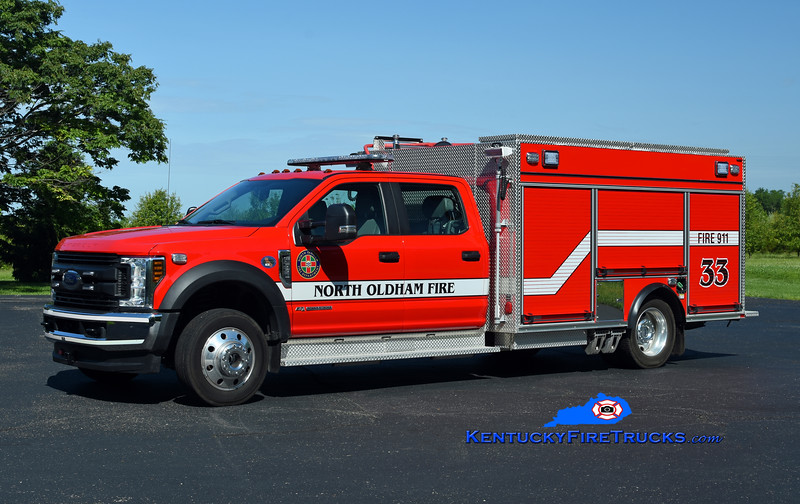 North Oldham Engine 1433<br /> 2019 Ford F-550 4x4/Pierce 1500/300<br /> Kent Parrish photo