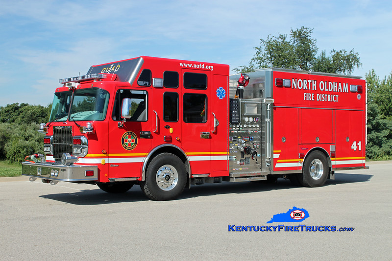 <center> RETIRED <br> North Oldham  Quad 1441 <br> 2010 Spartan Gladiator/Custom Fire 2000/1000/30 <br> Kent Parrish photo </center>