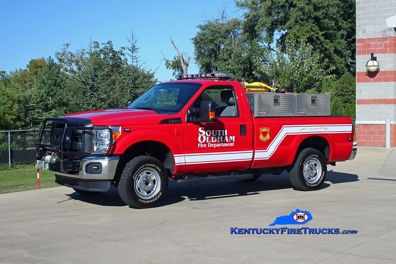 <center> South Oldham  Brush 5478 <br> 2012 Ford F-350 4x4/SOFD 250/200 <br> Kent Parrish photo </center>