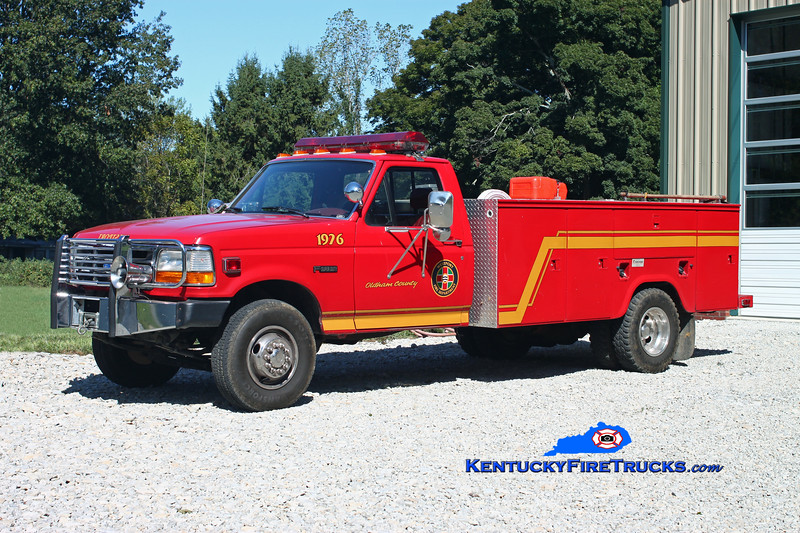 <center> RETIRED <br> Westport  Brush 1976 <br> x-Fairdale, KY <br> 1994 Ford F-450 4x4/Fontaine 500/300 <br> Kent Parrish photo </center>