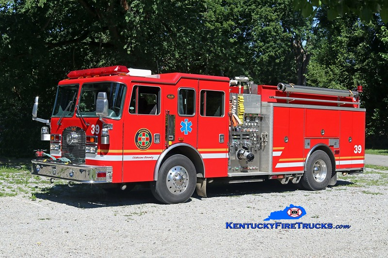Westport  Engine 1939<br /> x-North Oldham, KY<br /> 1998 KME Excel 1250/1000/25/25<br /> Kent Parrish photo