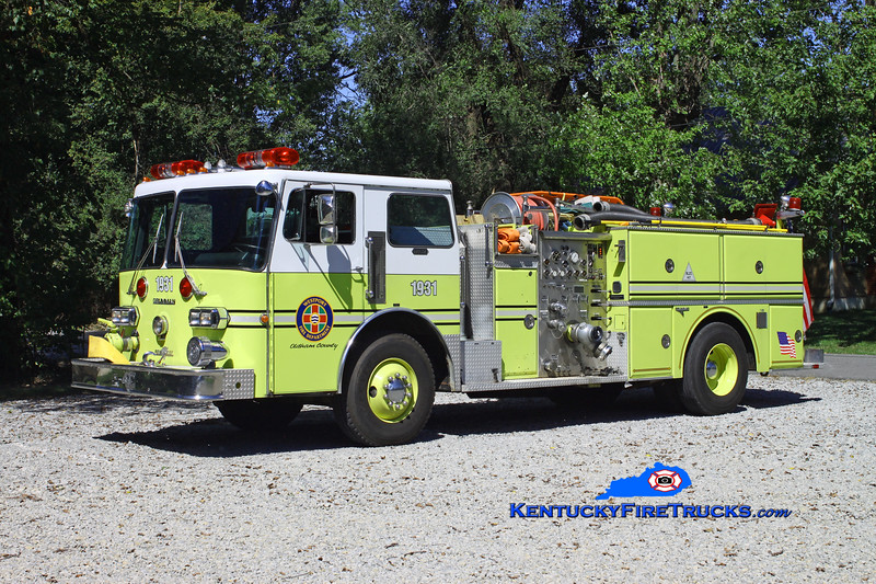 <center> RETIRED <br> Westport  Engine 1931 <br> x-Pleasure Ridge Park, KY  <br> 1982 Duplex D-350/Grumman 1250/750 <br> Kent Parrish photo </center>
