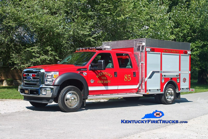 <center> Westport  Rescue 1985 <br> 2013 Ford F-550 4x4/Southeast 300/300/12 <br> Kent Parrish photo </center>