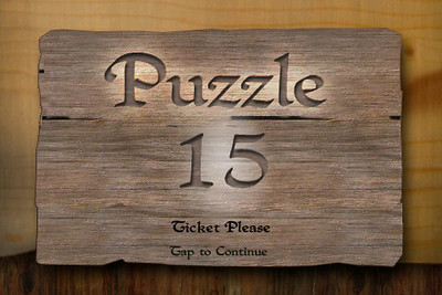 Puzzle 15 - Opening