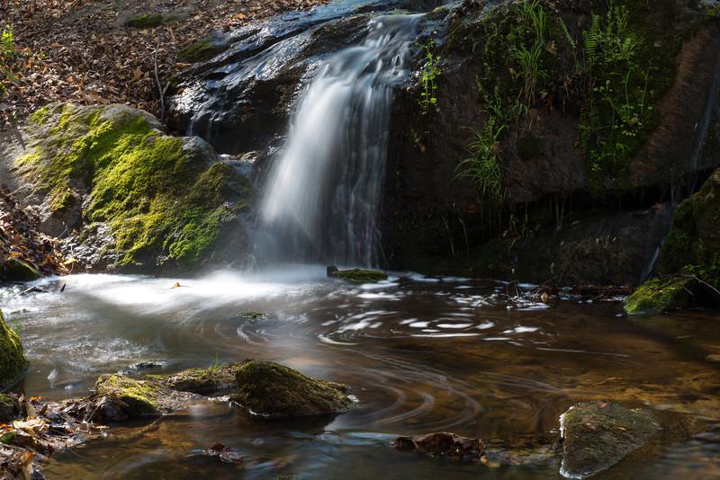 Small Falls - DeHart Botanical Gardens, Louisburg, NC<br /> best print size - all