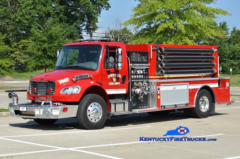 Owen County Tanker 9960<br /> 2020 Freightliner M2-106/Midwest Fire 1250/2000<br /> Greg Stapleton photo