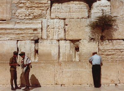 Wailling Wall, Jerusalem
