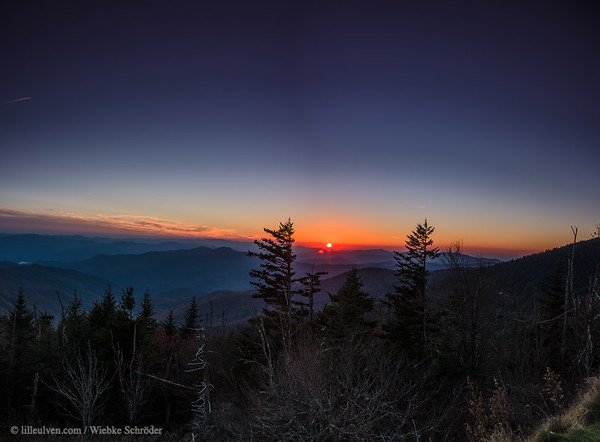 Clingmans Dome, Great Smoky Mountains National Park (HDR Panorama)
