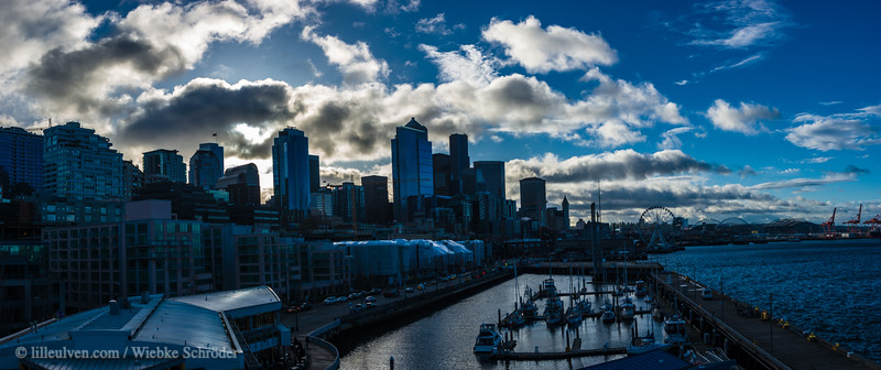 Seattle Belltown - Waterfront Panorama