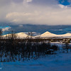 Afternoon over the mountains of Venabu (Panorama)