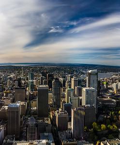 Downtown Seattle from the Sky Observatory