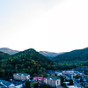 Great Smoky Mountains National Park, Space Needle Gatlinburg (Panorama)