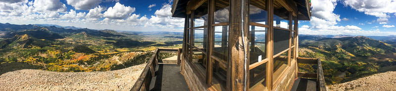 Hahn's Peak Fire tower