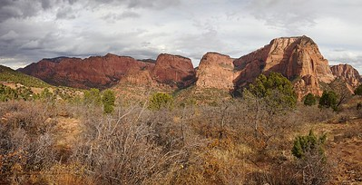 ZNP-Kolob-171020-0003 Kolob Canyons Pano #3