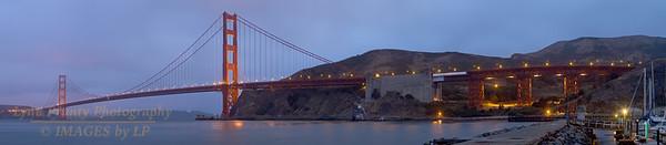 GGB/SF/CP-160705-0004 Golden Gate Bridge Panorama