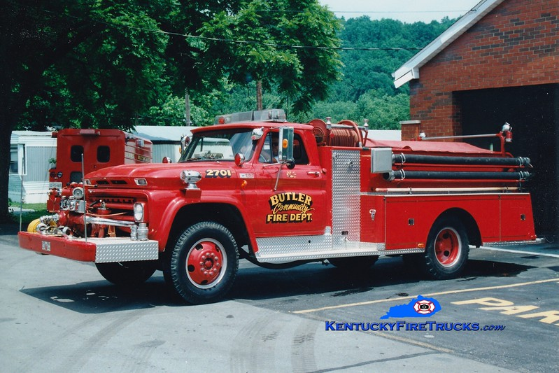 <center> RETIRED <br> Butler  Engine 2701 <br> 1965 Chevy/Sutphen 750/650 <br> Greg Stapleton photo </center>