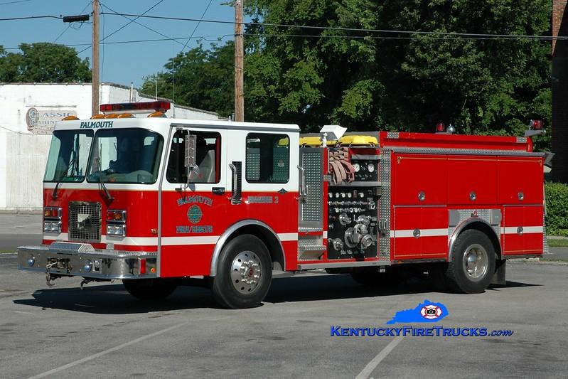 <center> Falmouth  Engine 2 <br> 1996 Spartan/Ferrara Invader 1250/750 <br> Greg Stapleton photo </center>