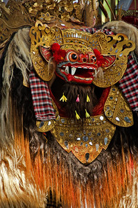 """Barong Dancer I""  Bali, Indonesia. September 2012."