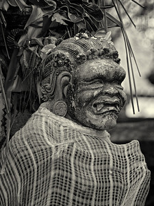 """Hindu Statue II"" Bali, Indonesia. September 2012."