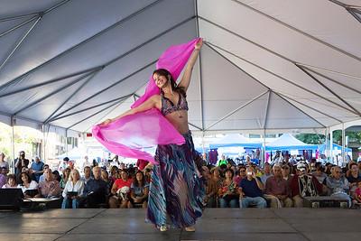 Dancer at the Reston Multicultural Festival