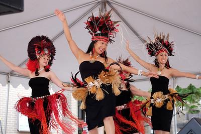 Dancers at the Reston Multicultural Festival Reston, Virginia