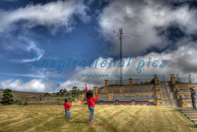Kite Flyers HDR