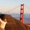 Intimate Moment at the Golden Gate Bridge