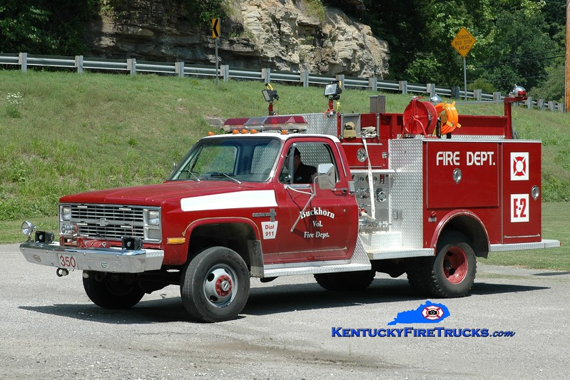 <center> Buckhorn  Engine 350 <br> 1980 GMC/Saulsbury 250/300 <br> Greg Stapleton photo </center>