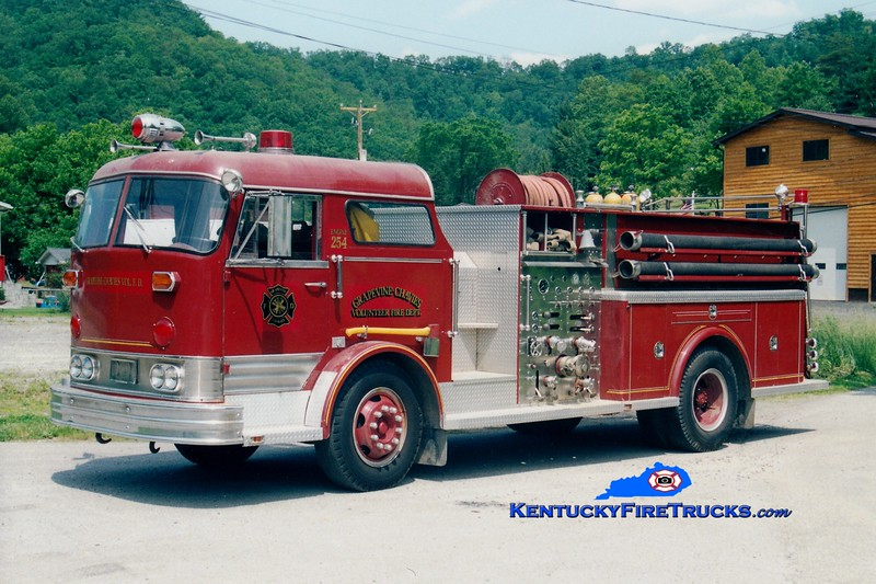 <center> RETIRED <br> Grapevine-Chavies Engine 254 <br> x-Manasquan, NJ <br> 1958 Beck/Approved/Hahn 750/500 <br> Greg Stapleton photo </center>