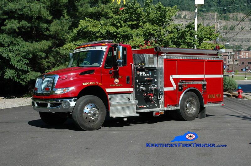 <center> Hazard Engine 4 <br> 2008 International 4400/KME 1000/500 <br> Greg Stapleton photo </center>