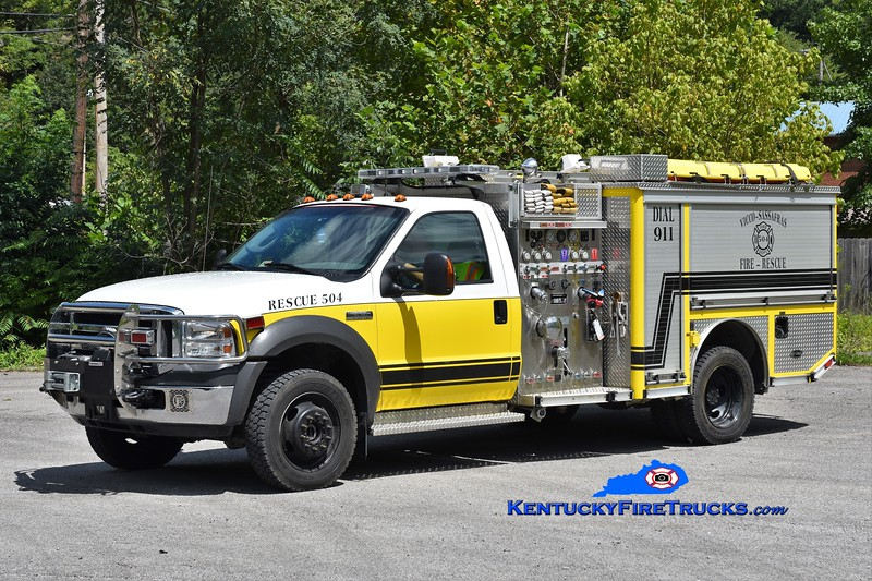 Vicco-Sassafras  Rescue 504<br /> x-Back Creek, VA<br /> 2006 Ford F-550 4x4/E-One 400/250<br /> Greg Stapleton photo