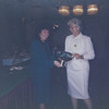 1st presentation of the Liz Prichard Trophy by her daughter at the 1990 PVDA Annual Dinner