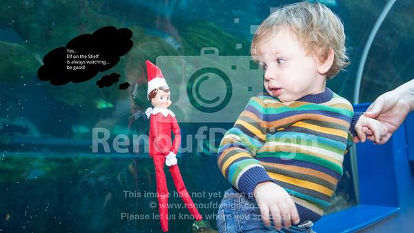 Elf on the shelf invasion - 31