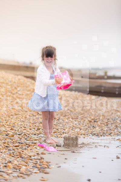 24 - Lily at the Seaside