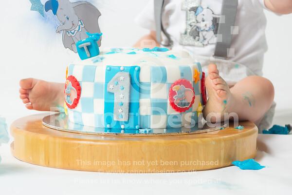 07 - Teddy's Cake Smash