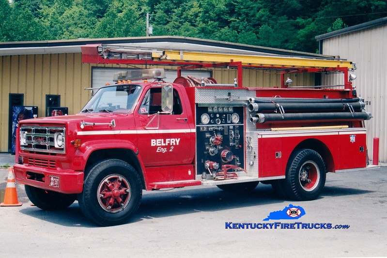<center> RETIRED <br> Belfry  Engine 2 <br> 1979 Chevy/Pierce 1000/750  <br> Greg Stapleton photo </center>